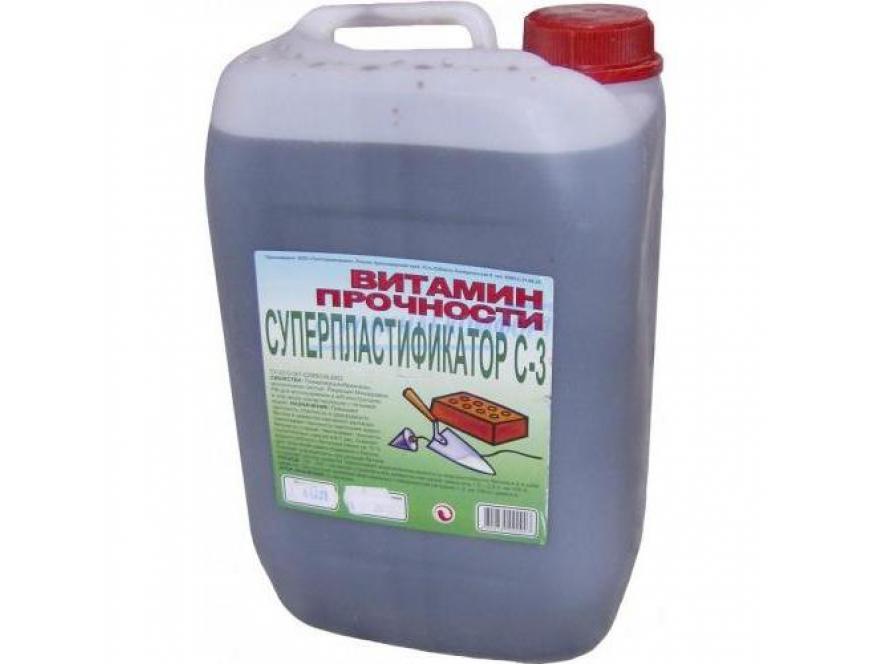 Пластификатор с3 для бетона