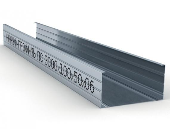 Профиль стоечный Knauf/Кнауф  ПС-6 100х50 мм 3000 мм