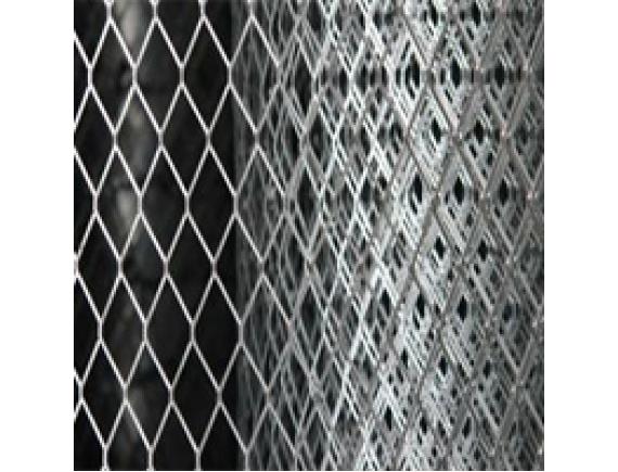 Сетка просечка   ЦПВС оцинкованная  1х10х0,9 мм