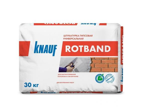 Штукатурка гипсовая Knauf/Кнауф Ротбанд 30 кг серая