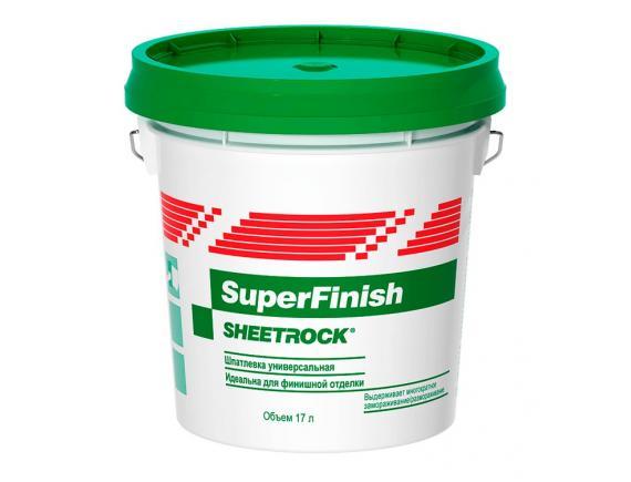 Шпатлевка универсальная Sheetrock SuperFinish/Шитрок СуперФиниш 28 кг