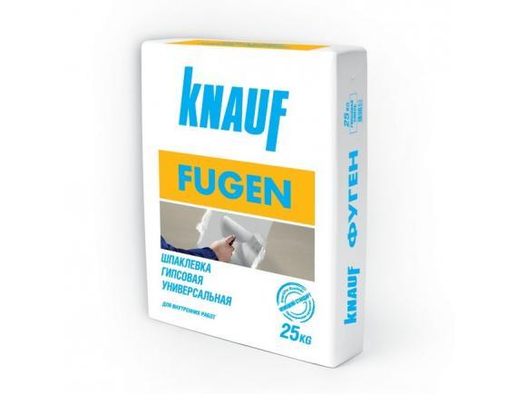 Шпатлевка универсальная гипсовая Кнауф Fugen/Кнауф Фюген белая 25 кг