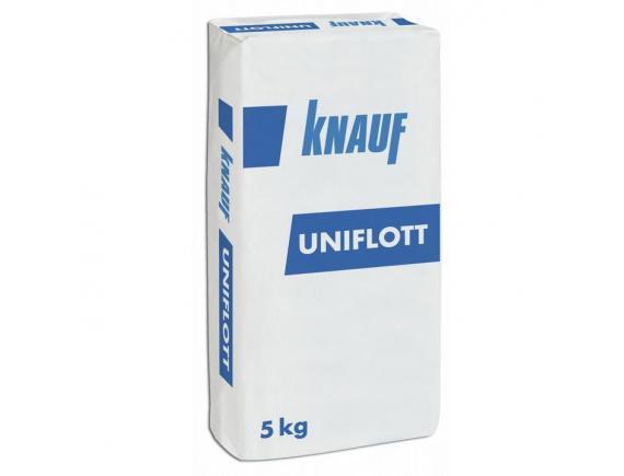 Шпатлевка гипсовая Knauf Uniflott/Кнауф Унифлот 5 кг