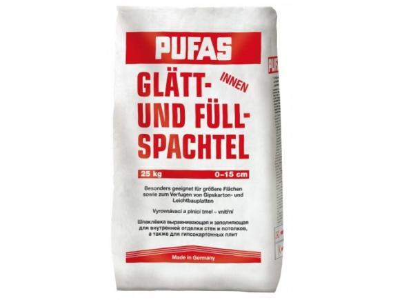 Шпатлевка гипсовая Pufas/Пуфас  Glatt-und Fullspachtel 20 кг