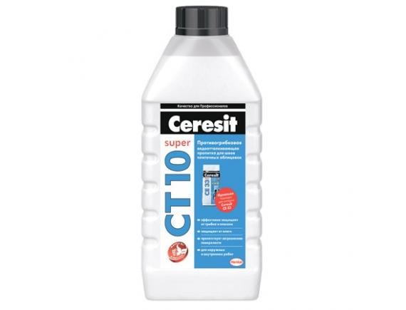 Пропитка противогрибковая Ceresit/Церезит  СТ 10   1л