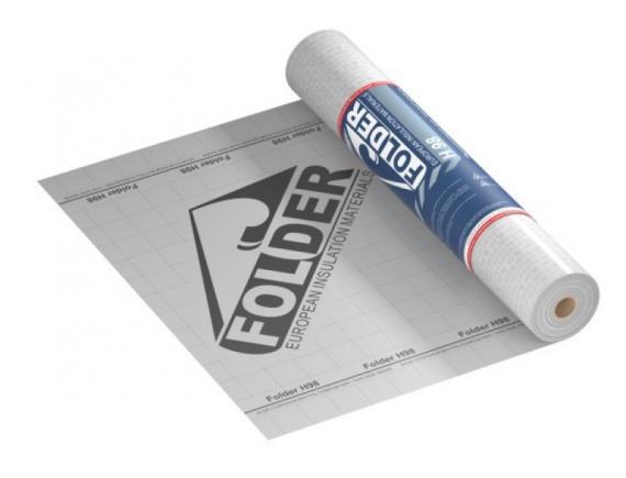 Пароизоляция для Кровли,Фасадов и перекрытий повышенной прочности Фолдер /Folder H 98