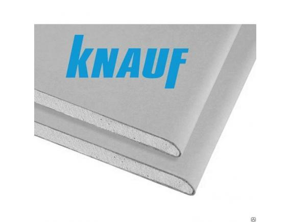 Гипсокартонный лист Knauf/Кнауф  3000х1200х12.5 мм