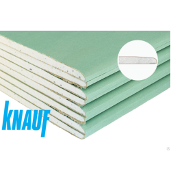 Гипсокартонный лист Knauf/Кнауф  влагостойкий 2500х1200х12,5 мм