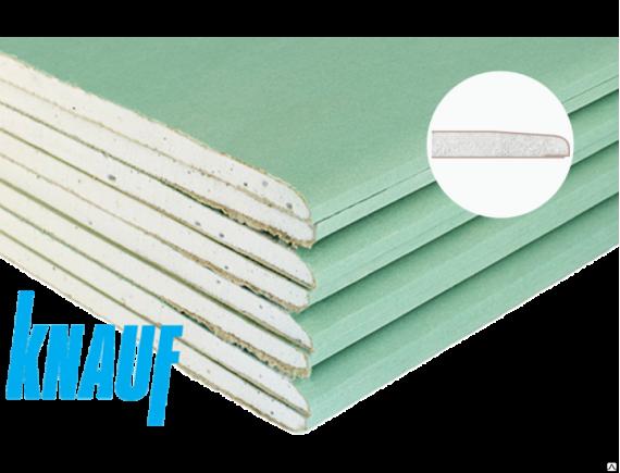 Гипсокартонный лист Knauf/Кнауф влагостойкий 2500х1200х9.5 мм