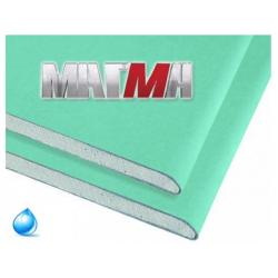 Гипсокартонный лист Магма влагостойкий  2500х1200х9.5 мм