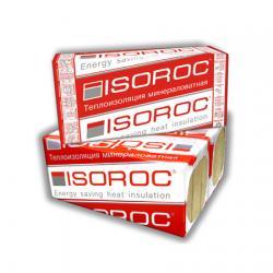 Базальтовая вата Isoroc/Изорок  Изолайт (плотн.50 ) 1000х500х100 мм  4 штуки в упаковке