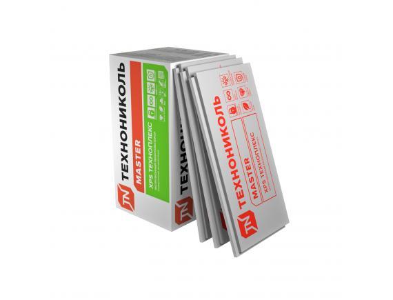 Экструдированный пенополистирол Технониколь Техноплекс XPS 1180x580x100 мм  4 плиты в упаковке (2.73м2;0.273м3)