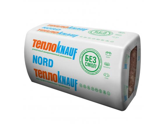 Теплоизоляция ТеплоKnauf /Кнауф NORD /НОРД 1230х610х100 мм 6 плит в упаковке (4.5 м2;0.45 м3)