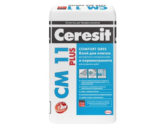 Клей для плитки Ceresit/Церезит CM 11 Plus 25 кг
