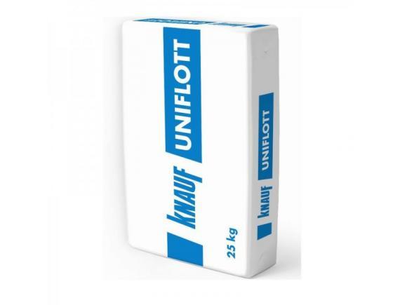 Шпатлевка гипсовая Knauf Uniflot/Кнауф Унифлот 25 кг
