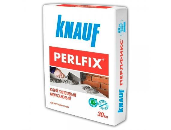 Клей гипсовый монтажный Knauf/Кнауф Перлфикс 30 кг