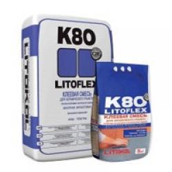 Клей для плитки Litokol Litoflex/Литокол Литофлекс K80 25 кг
