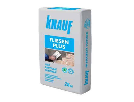 Клей плиточный Knauf Fliesen/Кнауф Флизен Усиленный плюс 25 кг