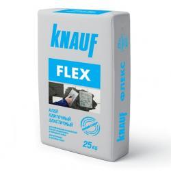 Клей для плитки и природного камня Knauf Flex/Кнауф Флекс 25 кг