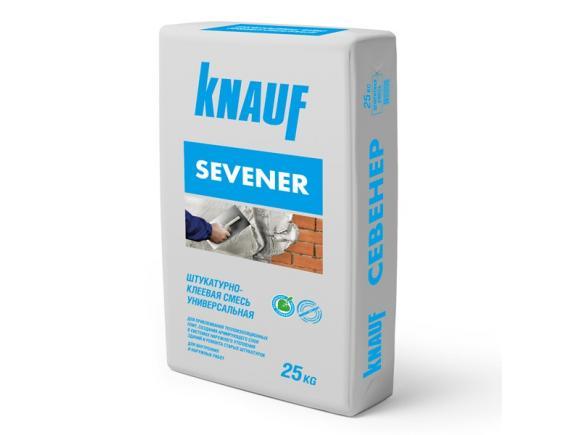 Штукатурно-клеевая смесь Knauf/Кнауф Севенер 25 кг