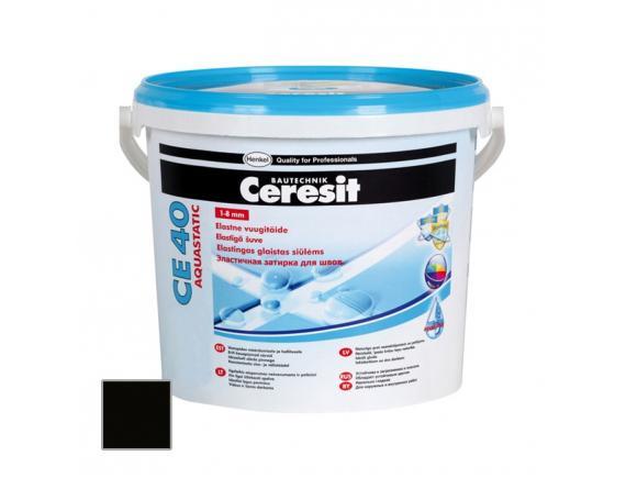 Затирка цементная Ceresit CE 40 Aquastatic Графит 2 кг