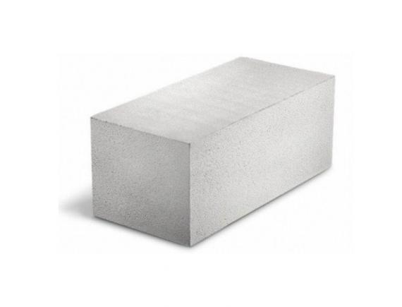 Пеноблок из ячеистого бетона 125х250х600 мм